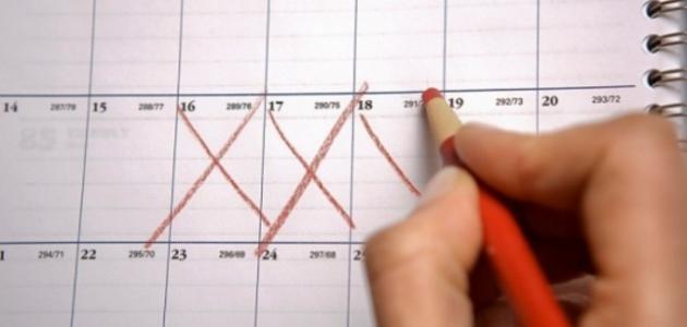 صورة ما هو سبب تاخر الدورة الشهرية عند البنات , اسباب وعلاج تاخر الدورة الشهرية
