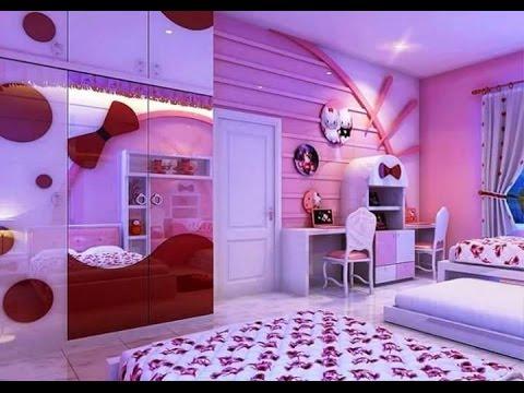 صورة صور غرف نوم بنات , غرف نوم بديكورات كيوت
