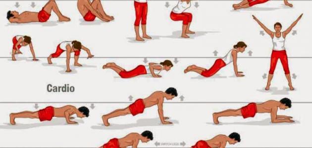 صورة تمارين الرياضية لتخفيف الوزن , اسهل تمارين لقلة الوزن