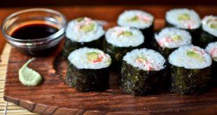 صور طريقة عمل السوشي بالصور , تحضير السوشي بالمنزل