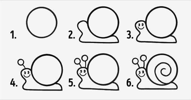 صورة تعلم الرسم خطوة بخطوة للاطفال , اسهل طرق لتعليم الرسم