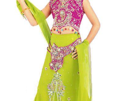 صورة ملابس هندية للبنات الصغار , اجمل ملابس هنديه للاطفال