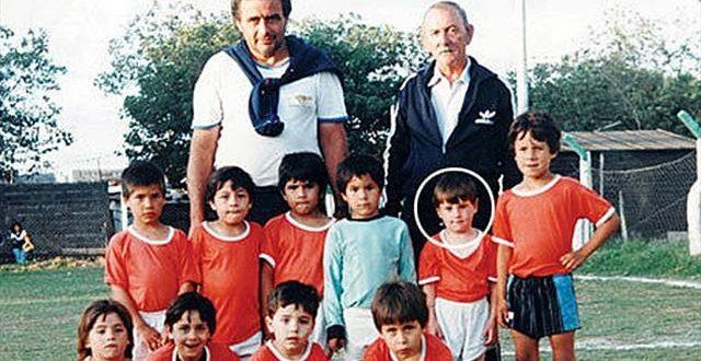 صورة صورة ميسي وهو صغير , صور لاعب كرة القدم ميسي
