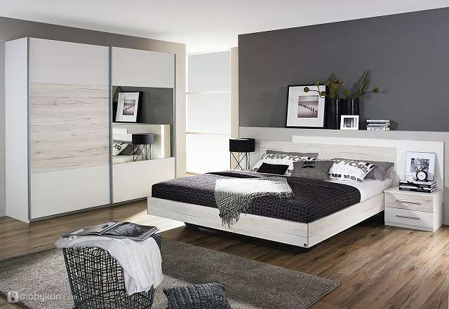 صورة غرف نوم مودرن خشب , اثاث غرف النوم