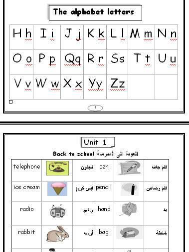 صورة الحروف الانجليزية بالعربي , تعلم نطق الحروف الانجليزيه 2794 7