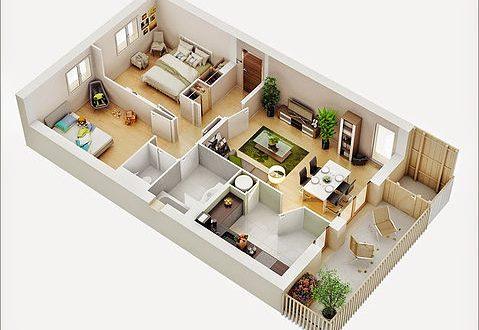 صورة تصميم منزل دور واحد اقتصادي , اجمل التصاميم العصريه للمنازل الاقتصاديه