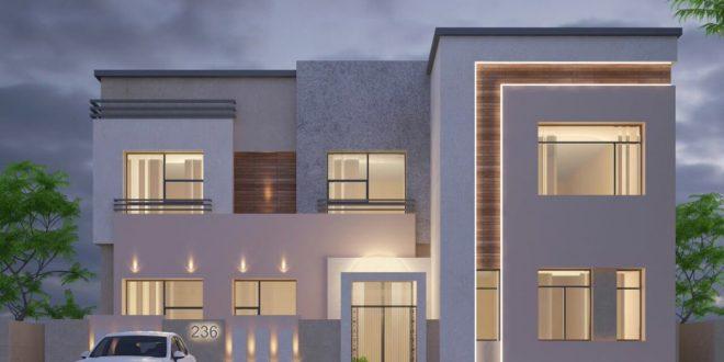 صورة تصميم واجهة البيت , اجعل منزلك جذابا