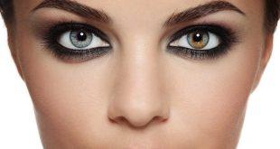 صورة لون العدسات المناسب للعيون البنية , تالقي باجمل العدسات