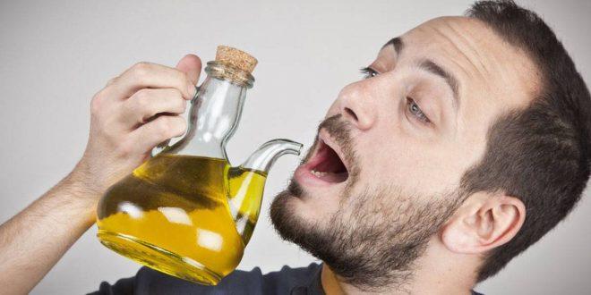 صورة شرب زيت الزيتون على الريق , فوائد زيت الزيتون