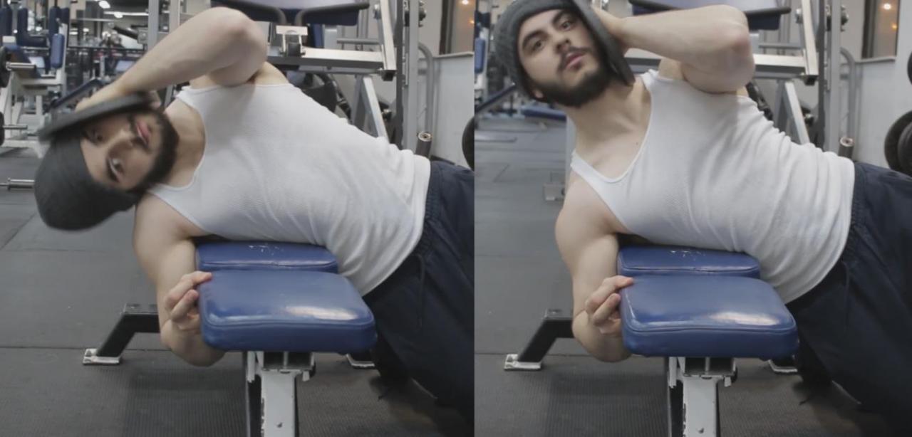 صورة تمارين لتقوية عضلات الرقبة , افضل التمارين لتقوية عضلات الرقبة