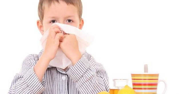 صورة علاج نزلات البرد عند الاطفال بالاعشاب , عالجي طفلك في المنزل