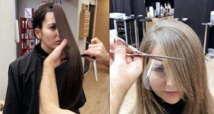 صور طريقة قص الشعر , احلي لوك لشعرك