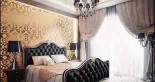 صورة غرف النوم مغربية , ارقي ديكورات غرف النوم