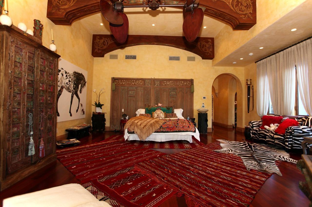 صورة غرف النوم مغربية , ارقي ديكورات غرف النوم 3467 2