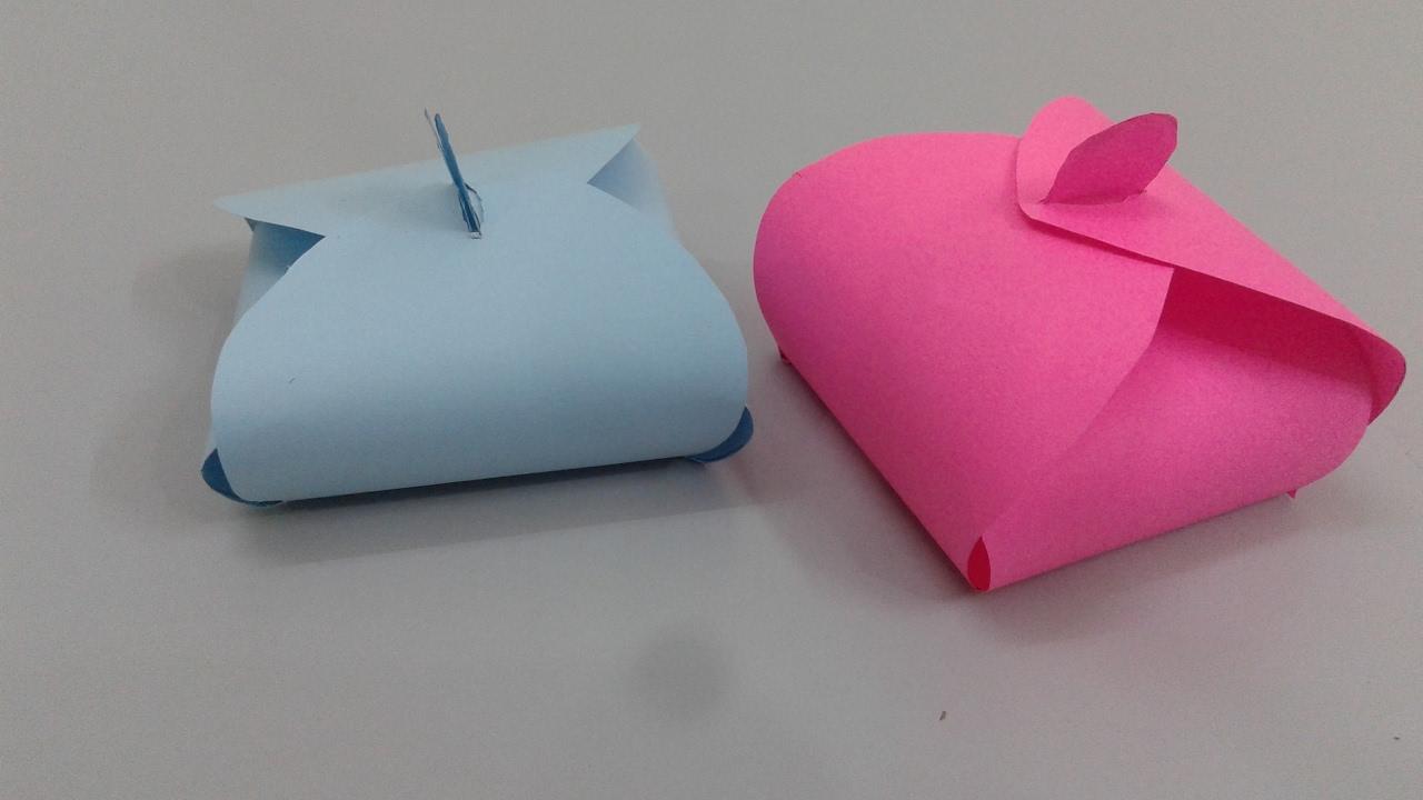 صورة كيف تصنع هدية من الورق , اسهل واسرع الهدايا 3562 2