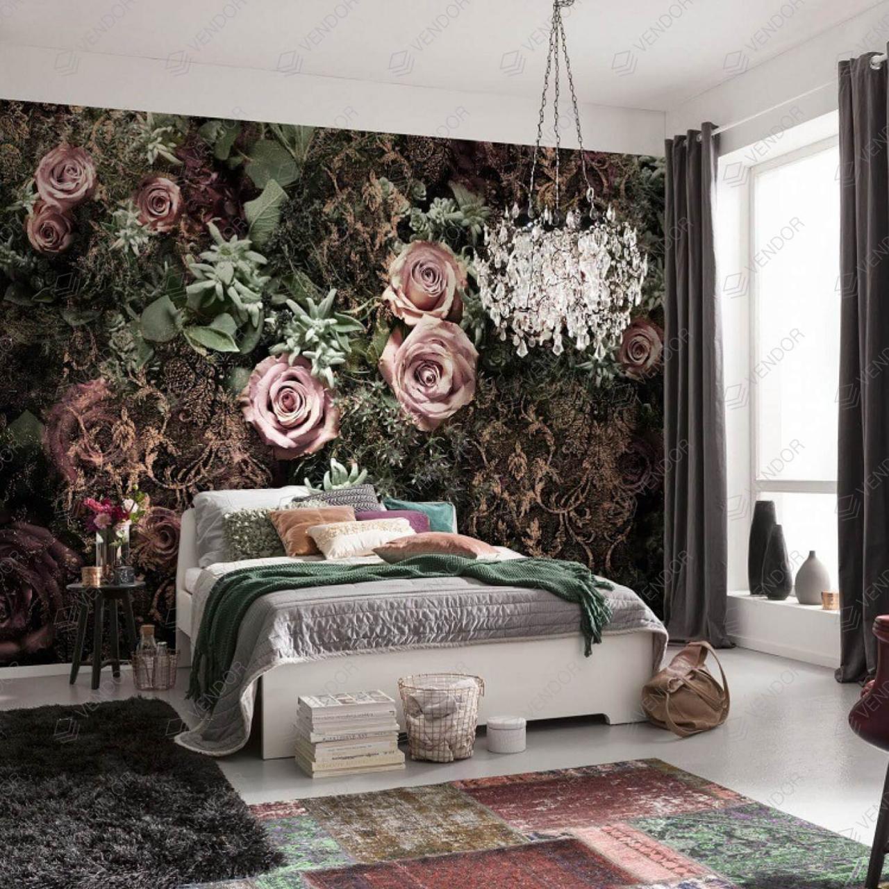 صورة رسومات حائط لغرف النوم , لتزين غرف النوم باجمل الرسومات 2251 1