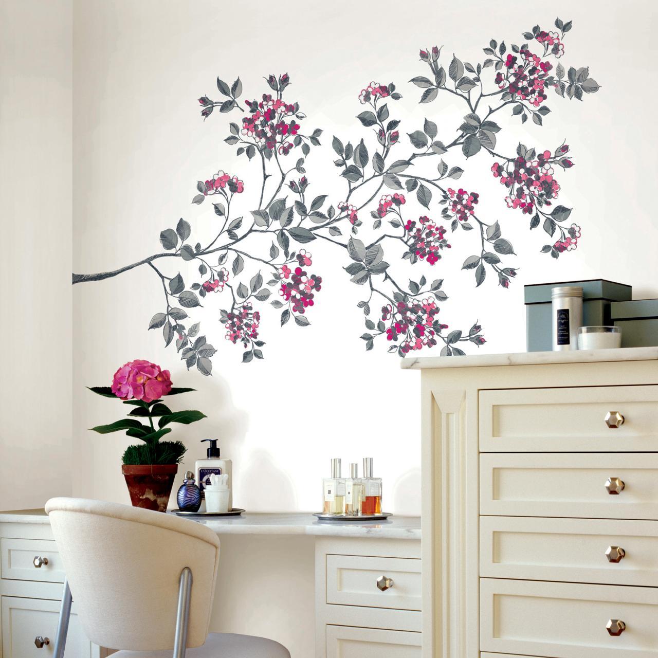 صورة رسومات حائط لغرف النوم , لتزين غرف النوم باجمل الرسومات 2251 3