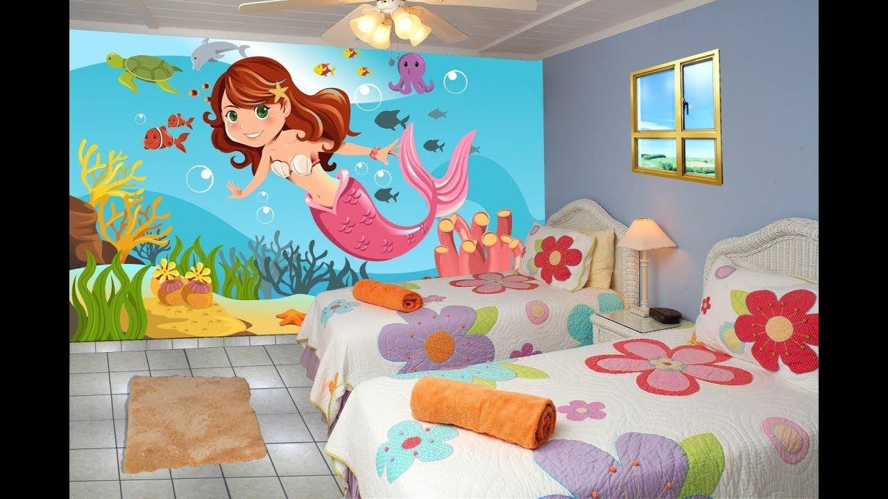 صورة رسومات حائط لغرف النوم , لتزين غرف النوم باجمل الرسومات 2251 4