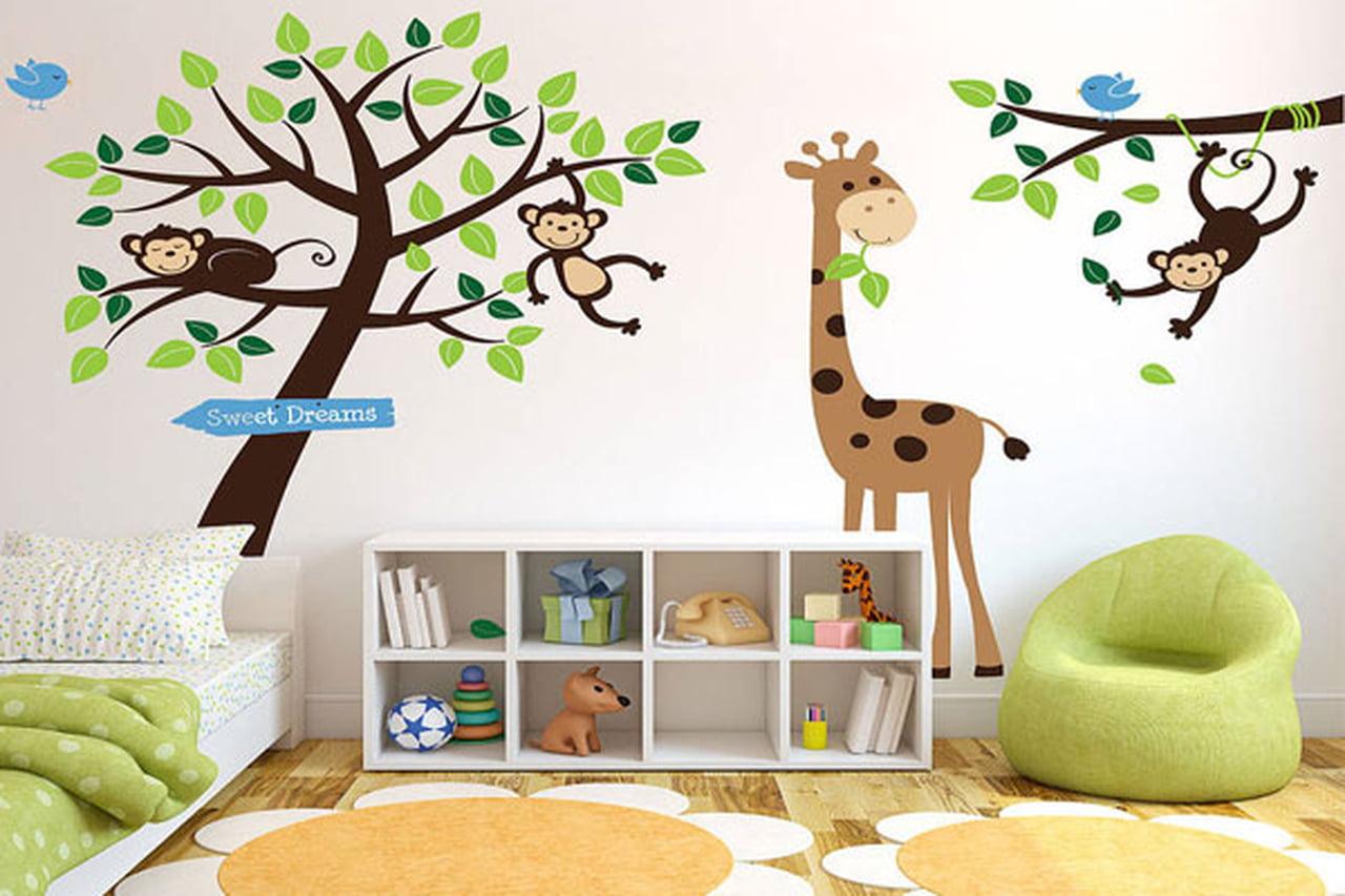 صورة رسومات حائط لغرف النوم , لتزين غرف النوم باجمل الرسومات 2251 6