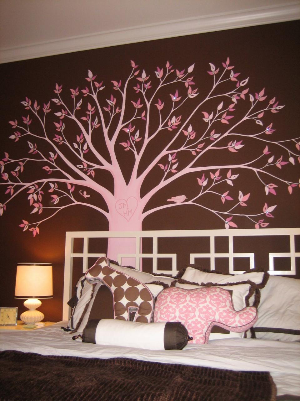 صورة رسومات حائط لغرف النوم , لتزين غرف النوم باجمل الرسومات 2251 8