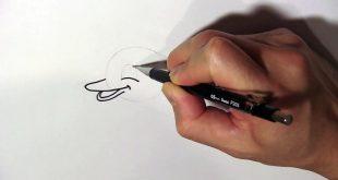 صورة رسم جرافيتي للمبتدئين , تعلم اسهل المواهب