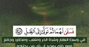 صورة اجمل اية قرانية , روحانيات في ايات