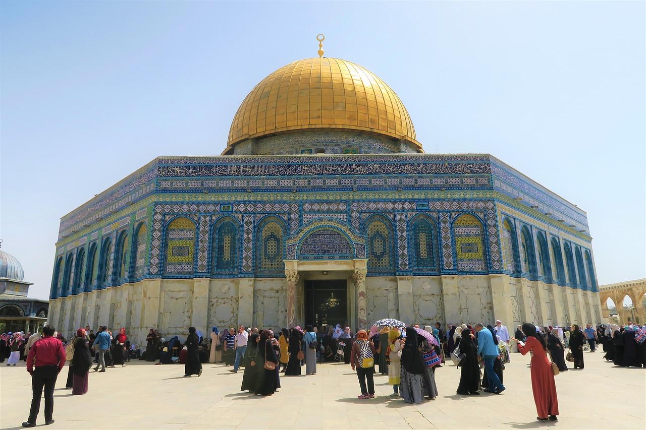 صورة شكل مسجد قبة الصخرة , صور تبرز جمال قبة الصخرة