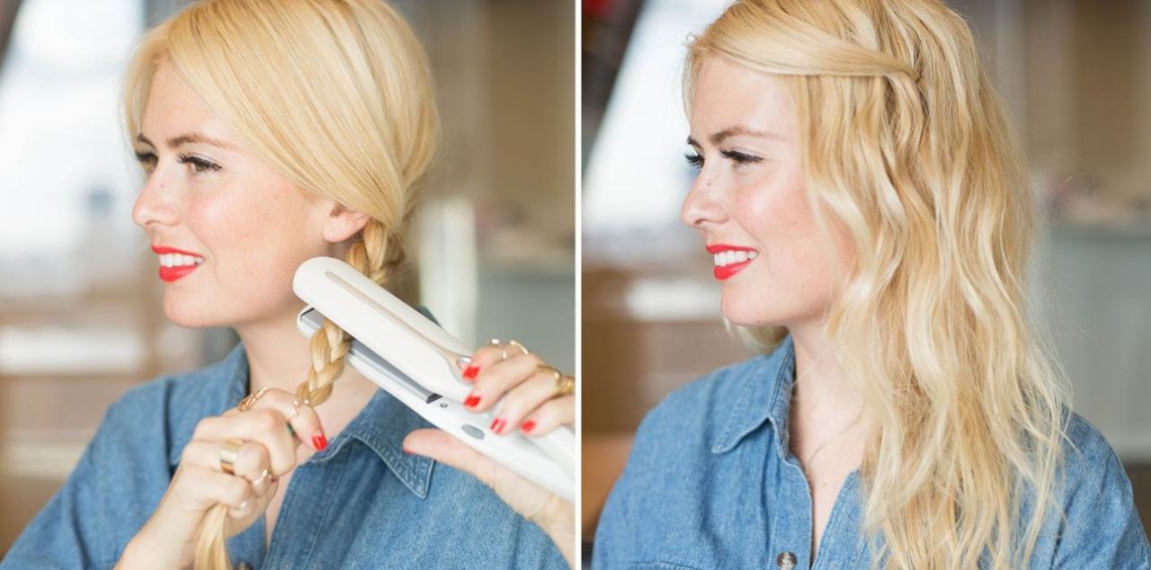 صورة طريقة عمل الشعر كيرلي , اسهل الطرق للشعر الكيرلي