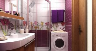 صورة ديكورات حمامات صغيرة المساحة مودرن , احلى دكورات للحمام