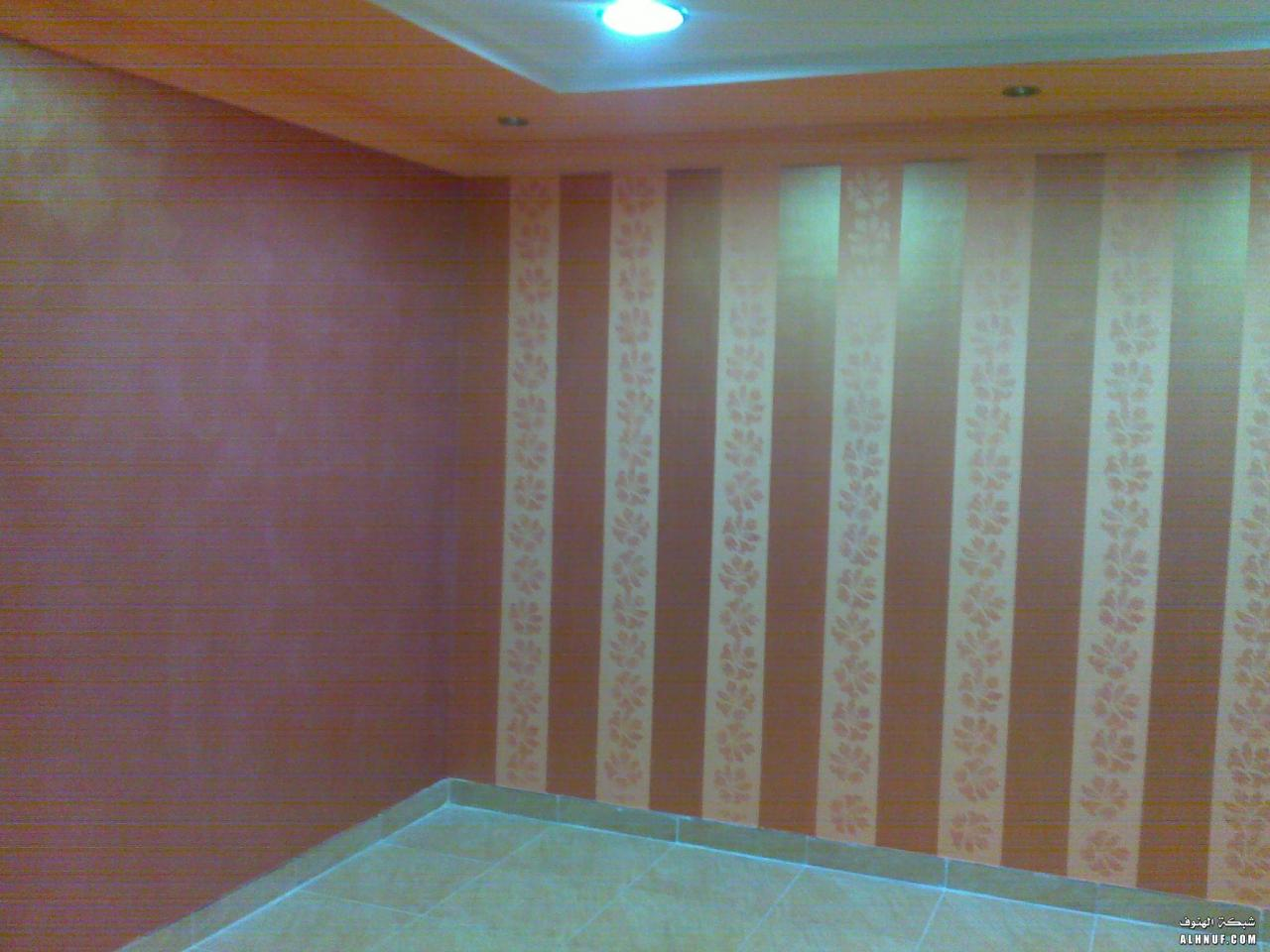 صورة احدث ديكورات الدهان , افضل دكور لدهان الحوائط