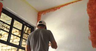 صورة كيفية ازالة طلاء الجدران , ازيلي الطلاء بكل بساطة