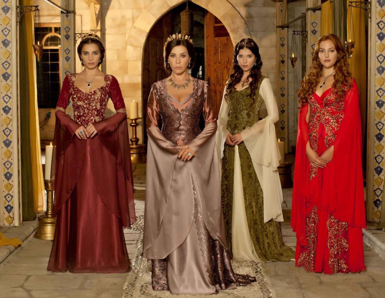 صورة ملابس حريم السلطان , موديلات نادرة من ازياء حريم السلطان 778