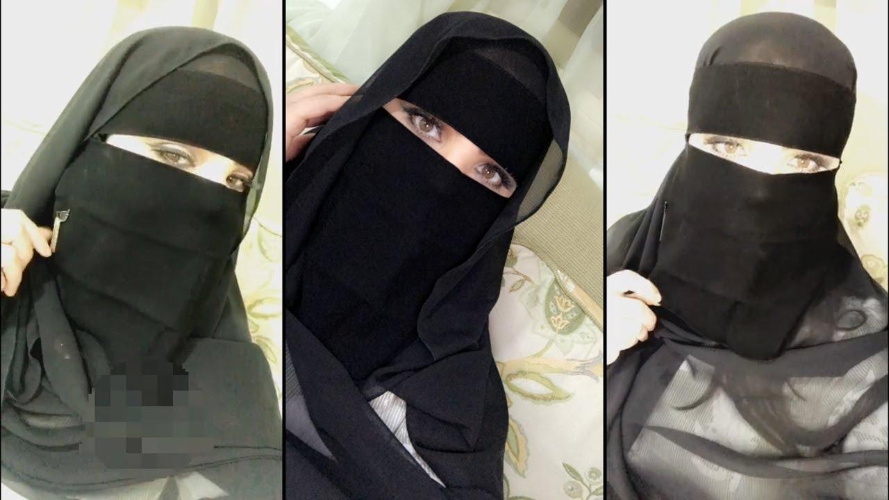 صورة منقبات على الموضة , منقبات متالقات بملابس انيقة وعصرية