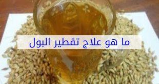 صورة علاج تقطير البول بالاعشاب , العشبة المعجزة لعلاج تقطير البول