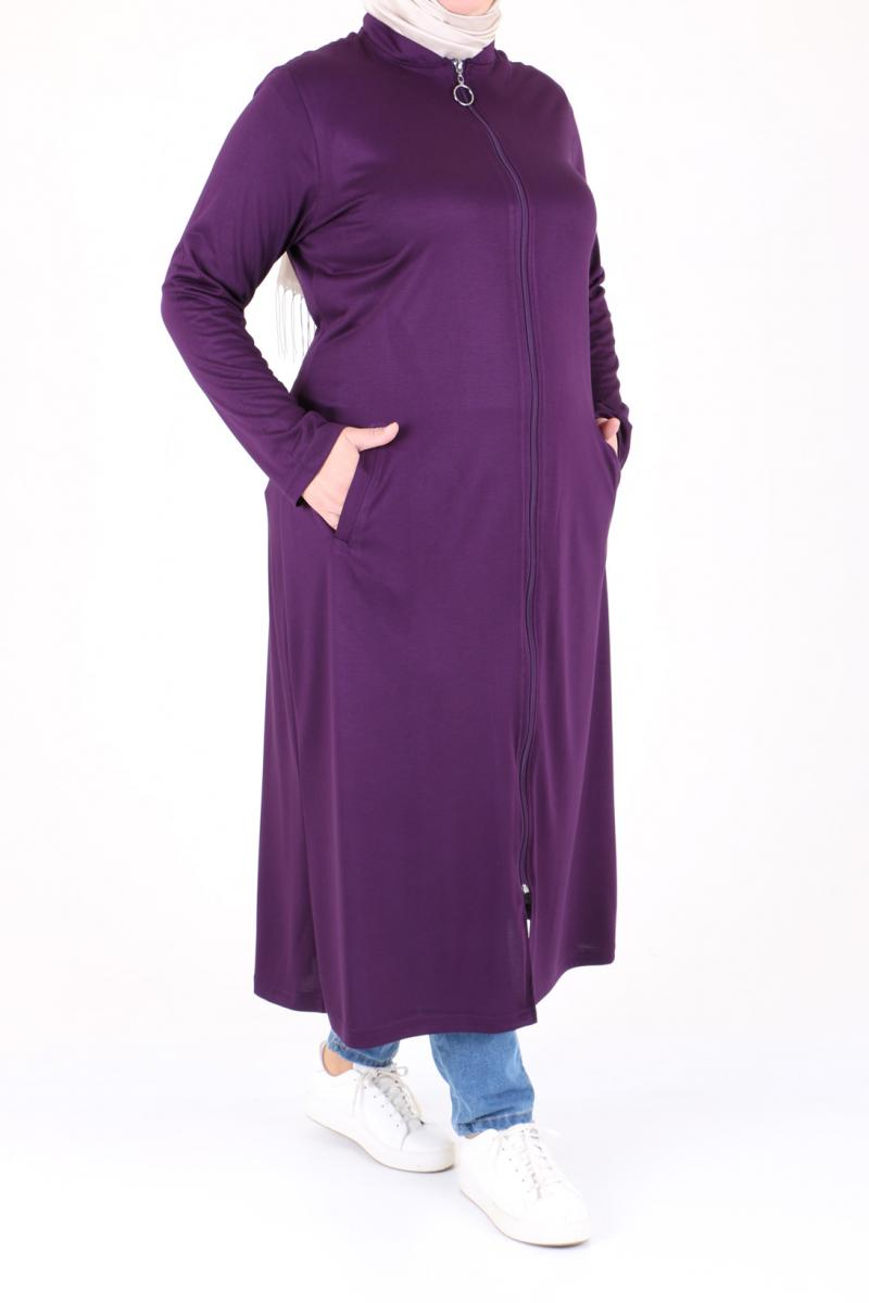 صورة ملابس محجبات كاجوال للبدينات , صيحات الكاجوال وجماله