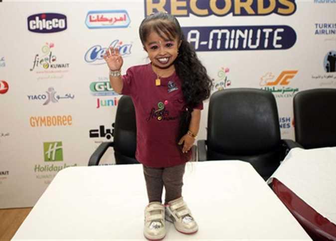 صورة اقصر امراة في العالم , معقول ده طول أقصر فتاة فى العالم 334 2