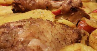 صورة مش معقول جمال هذه الاكلة الشامية,صينية بطاطس بالفرن على الطريقة السورية