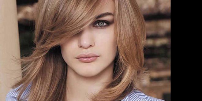 صورة اجمل تسريحات جميلة وعصرية للشعر الطويل,اخر موضه لتسريحات الشعر