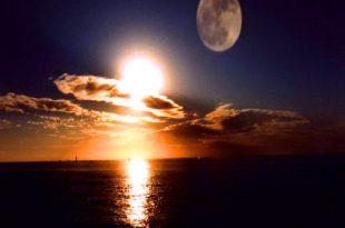 صورة تفسير رؤية الشمس للسيدات فى الحلم,الشمس والقمر في المنام