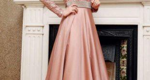 صورة مش معقول أشكال الفساتين العصرية,صور فساتين سواريه محجبات