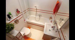 صورة ديكورات عصرية باستغلال كل مساحة الحمام,افكار للحمامات الصغيرة