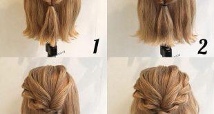 صورة تسريحات رقيقة خالص ,تسريحات شعر بسيطة للشعر القصير
