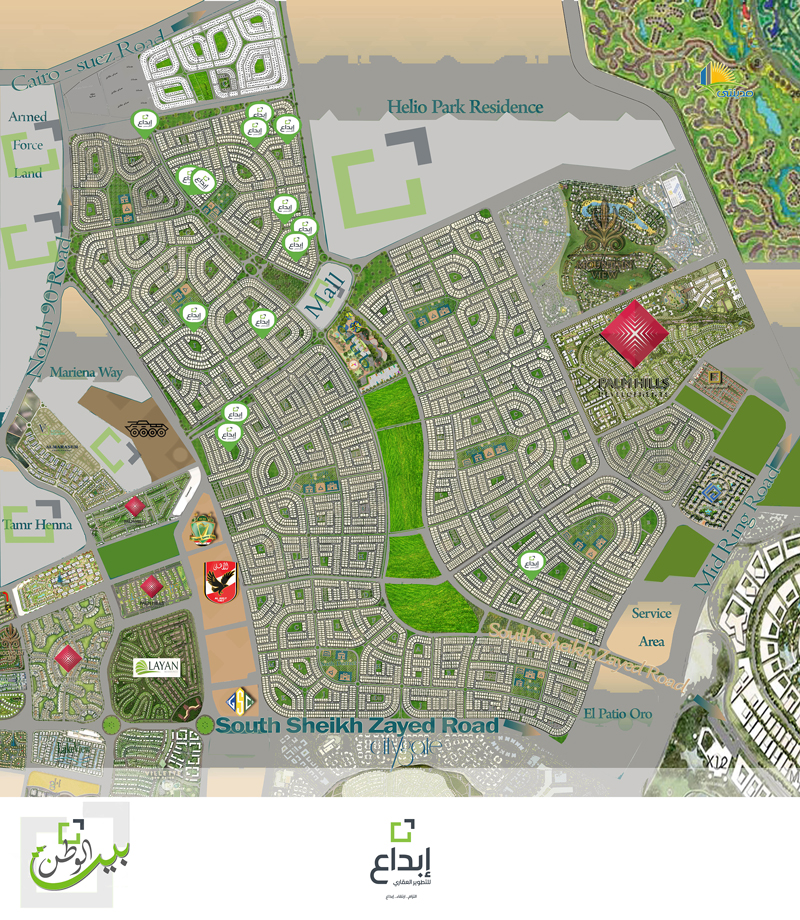 صورة اكبر حديقه حيوان فى الشرق الاوسط كلو , خريطة حديقة الحيوان 1740 3