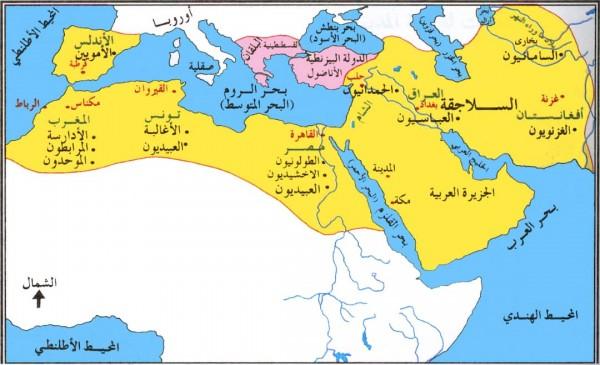 صورة من اكثر الخلافات الى استمرت عبر اعوام , خريطة العصر العباسي 2077 4