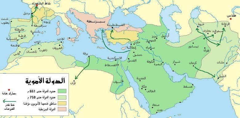 صورة من اكثر الخلافات الى استمرت عبر اعوام , خريطة العصر العباسي 2077 7
